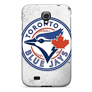 First-class Case Cover For Galaxy S4 Dual Protection Cover Toronto Blue Jays