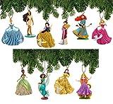 Disney Princess Ornament Set Deluxe 11 Piece