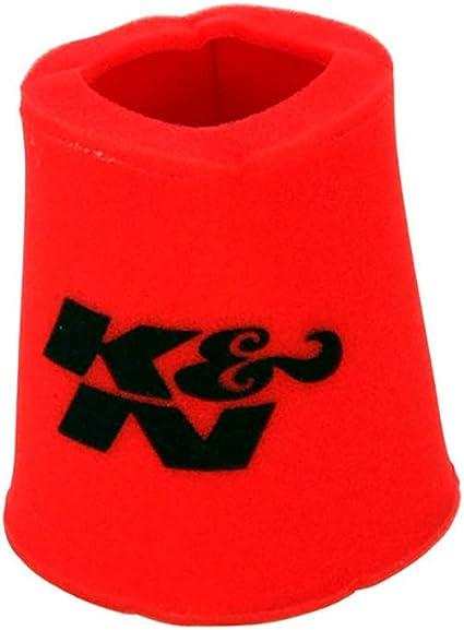 K & N 25 – 0880 Filtro de Aire Espuma Wrap Coche y Moto: Amazon.es ...