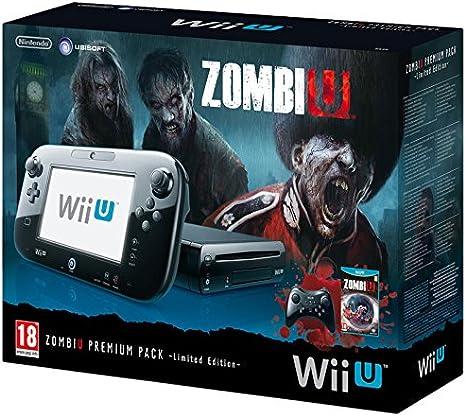 Console Nintendo Wii U 32 Go noire - ZombiU premium pack [Importación Francesa]: Amazon.es: Videojuegos