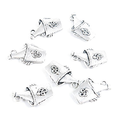 lver Jewelry Making Supply Charms Findings P1LZ6 Wine Ice Bucket ()