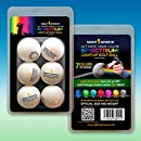 Night Sports Spectrum 6 Pack Light Activated 7 Color LED Golf Balls