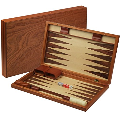 Wood Backgammon Set - 4