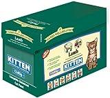 James Wellbeloved Kitten Lamb Pouches 12 x 85g