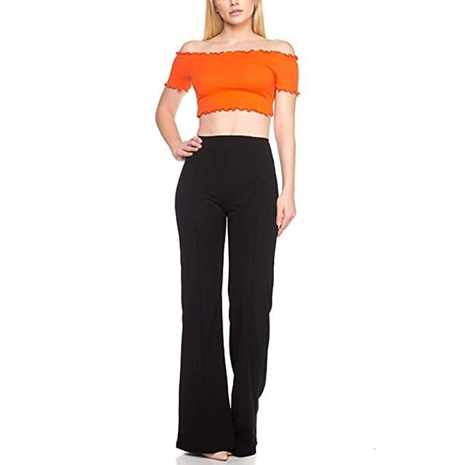 Amazon.com: UOKNICE pantalones de estilo empresarial, de ...
