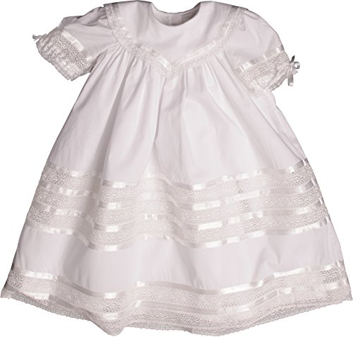 Strasburg Children Girls' Savannah Heirloom Lace Flower Girl Dress (4, (Heirloom Dresses For Girls)