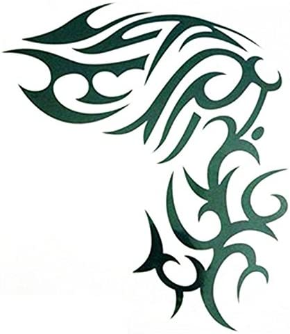 Katpost - Tatuaje temporal para Body Art Electrocardiograma ...