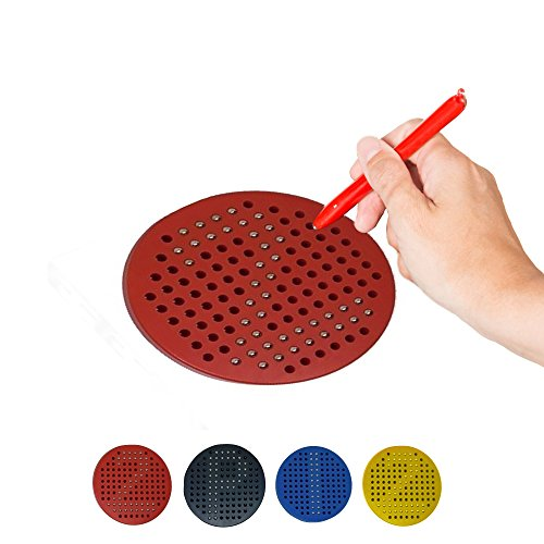 Developing Fine Motor Skills - B.N.D TOP magnetic balls tablet magnetic drawing board OT toys for kids educational magnet toys fine motor skills toys 4 round magnetab stylus magnetic drawing board magnets pen ot pencil grips