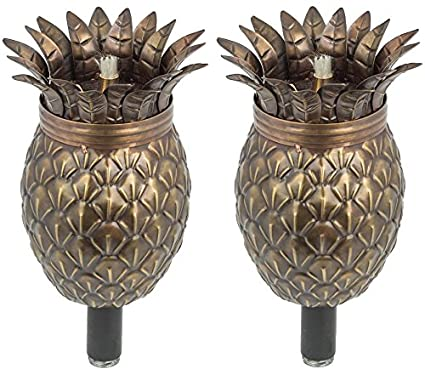 Amazon.com: Maui Tiki torch Set de 2, Paisaje Antorcha ...