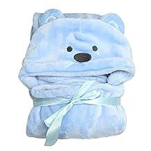 Lovely Animal Cartoon Baby Kid's Hooded Bathrobe Toddler Boy Girls Bath Towel