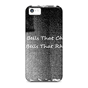 CasePete Premium Protective Hard Case For Iphone 5c- Nice Design - Bird Bell