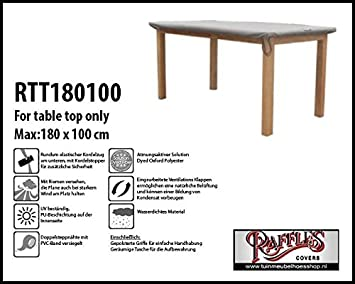 Amazon De Raffles Covers Rtt180100 Schutzhulle Nur Fur Tischplatten