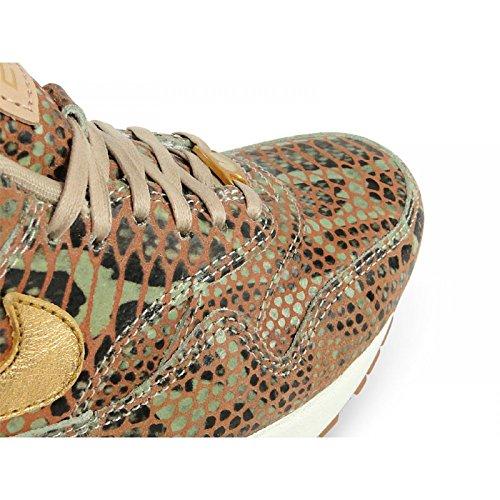 Nike beige Air Zapatillas mujer de Material Sintético Max para r8Txqr