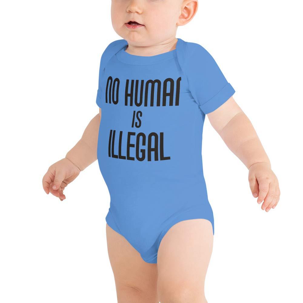 Baby Onesie No Human is Illegal