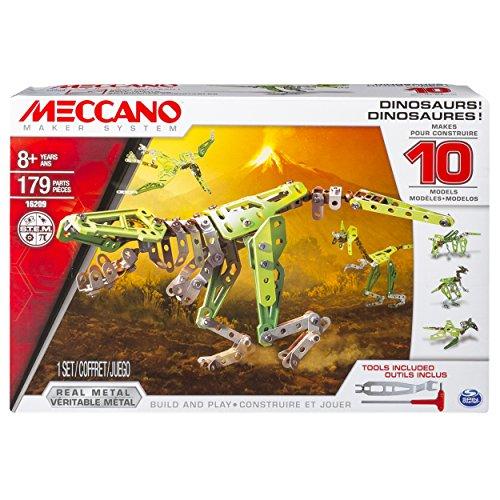 Meccano - 6033323 - Jeu de Construction - Dinosaures 10 Modèles
