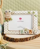 Baby Owl Picture Frame Horizontal 3d (8'' X 6'' Holds a 6'' X 4'' Picture) From Gifts By Fashioncraft