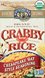 Lundberg Family Farms Organic Rice & Seasoning Mix, Crabby Rice, 6 Ounce (Pack of 6)