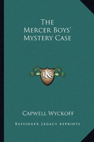 Download The Mercer Boys' Mystery Case pdf epub