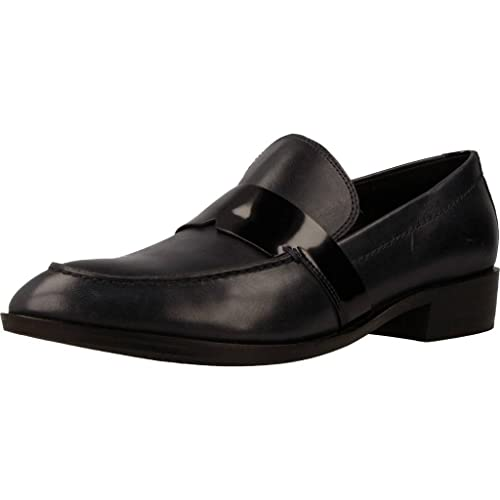 Mocasines para Mujer, Color Azul, Marca GEOX, Modelo Mocasines para Mujer GEOX D Lover Azul: Amazon.es: Zapatos y complementos
