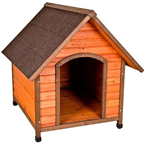 (Ware Manufacturing Premium Plus A-Frame Fir Wood Dog House - Medium)