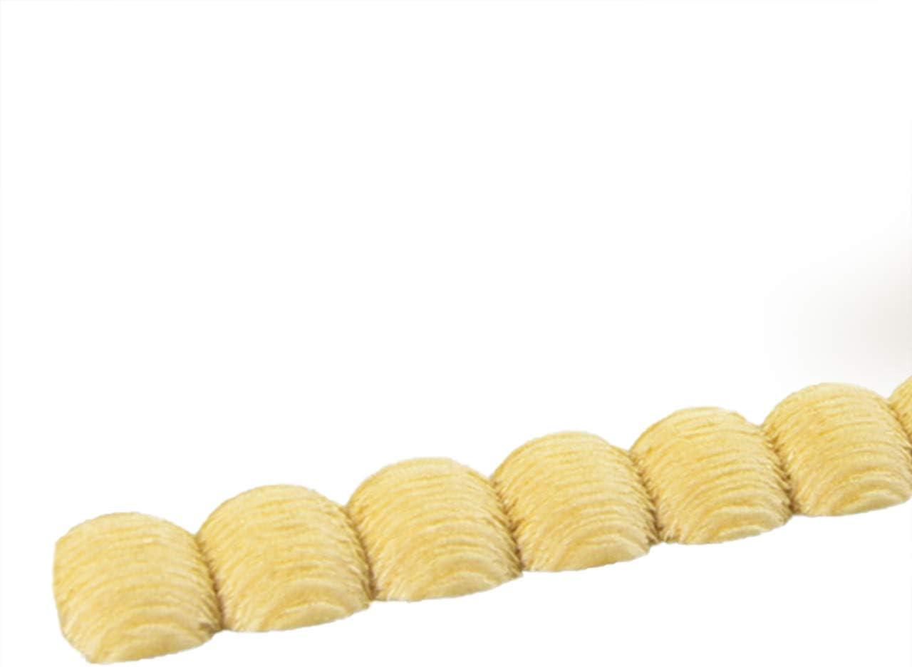 Modell: SL0808 Abschlussleisten Bastelleisten Holz-Stuckleisten M/öbelleisten 5-er Pack Zierleiste Schnitzleiste Pr/ägeleiste 1000 x 8 x 8 mm Kiefer Massivholz natur unbehandelt