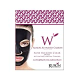 Kuron Activated Carbon Crystal Mask Acne Blemish Clear with Activated Charcoal Powder 1 Pc.