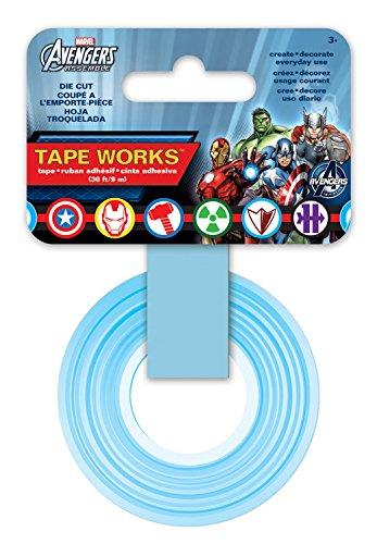 Tape Works Marvel Hero's Die Cut Tape