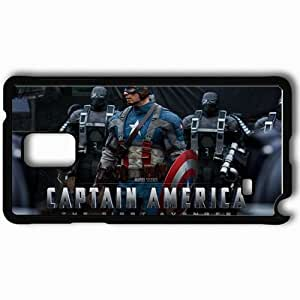 Personalized Samsung Note 4 Cell phone Case/Cover Skin 2011 captain america movies Black by icecream design