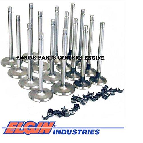 Ford 360 Big Block - Intake & Exhaust Valves Ford 390 360 410 428 352 Mercury FE Big Block bb Set (Stock Replacement)