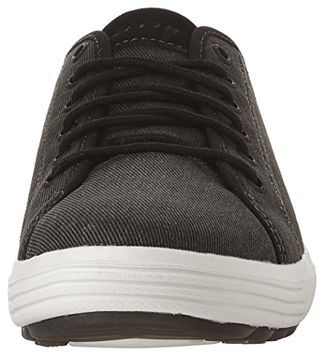 Skechers Mænds Porter Meteno Oxford Sort fEhmZi