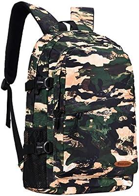 AMOS Bolsa de camuflaje bolsa de hombro masculina mochila