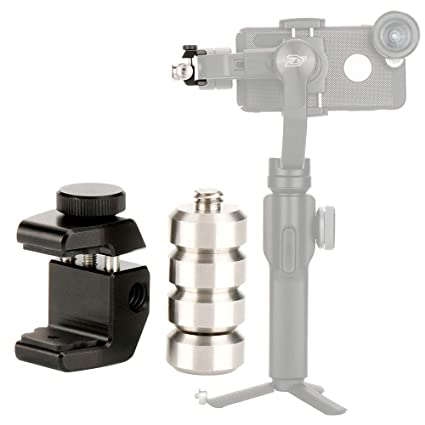 Universal Counterweight 64g for DJI Osmo Mobile 2/Zhiyun Smooth 4/Smooth  Q/Feiyu Vimble 2/Evo and Other Phone Gimbal Stabilizer Applied to Moment