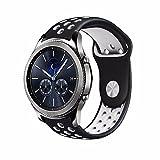 20mm Silicone Sport Quick Release Watch Strap Wristband for Samsung Gear Sport S4 Gear Ticwatch 2 SmartWatch
