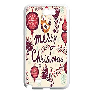 Custom New Cover Case for Samsung Galaxy Note 2 N7100, Merry Christmas Phone Case - HL-710651