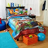 Childrens, Kids, Toddlers, Twin Size Bedding Comforter Sets (Paw Patrol)
