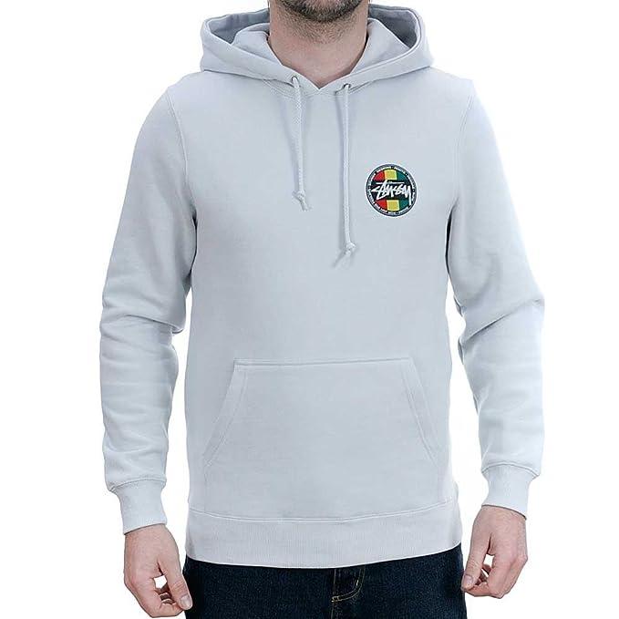 Stussy - Sudadera - para Hombre Blanco Blanco: Amazon.es: Ropa y accesorios