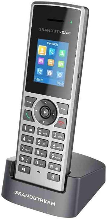 Grandstream Networks DP722 - Teléfono IP (Negro, Gris, Terminal inalámbrico, 3.5mm, 50 m, 350 m, TFT): Amazon.es: Electrónica