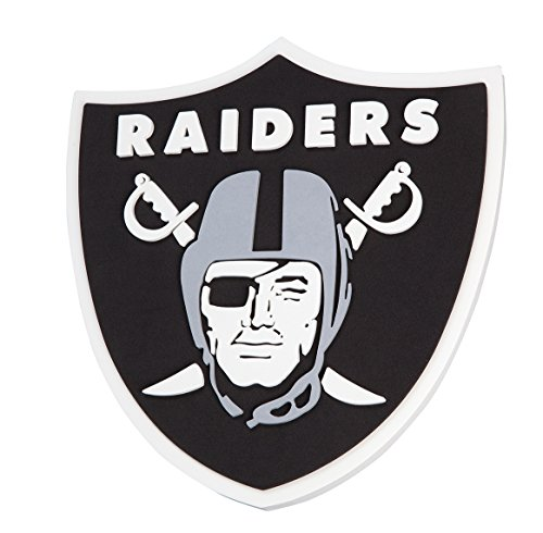 NFL Oakland Raiders 3D Foam Wall Sign by FanFave
