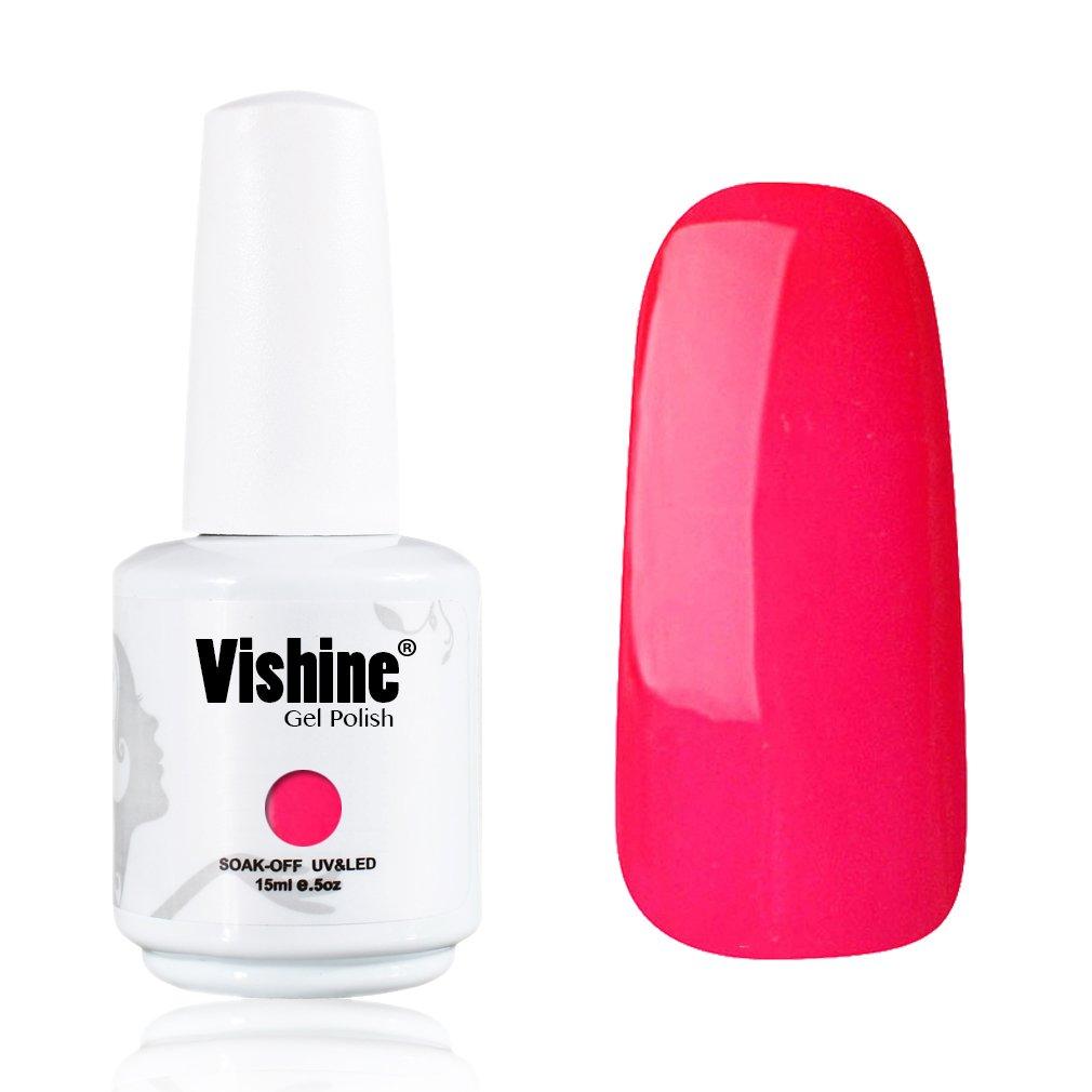 Amazon.com : Vishine Gelpolish Lacquer Shiny Color Soak Off UV LED ...