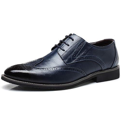 Männer kleiden Büro Schuhe Formale Business Split Leder AtmungsAktive  Bequeme Schuhe  Amazon.de  Schuhe   Handtaschen a47fbbdb13