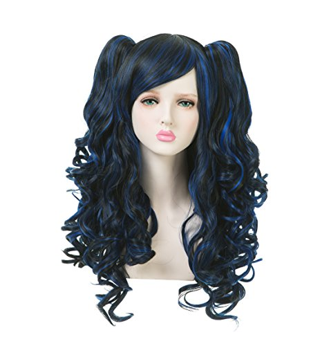 EDENKISS Women Cosplay lolita Clip on Two Ponytails