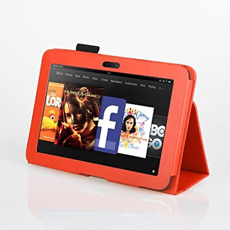 Stylus Pen Available in Mutiple Colors Case-MOFRED/® Executive Multi Function Standby Case with Built-in Magnet for Sleep // Wake feature for the Kindle Fire HD 7 Case 2013 Model-2nd Gen Screen Protector MOFRED/® Blue Kindle Fire HD 7 Tablet