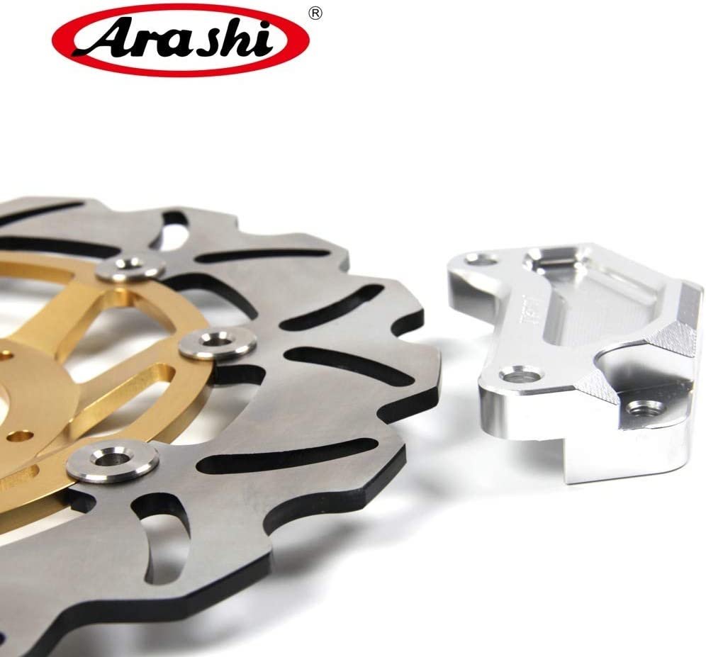Arashi Oversize Front Brake Disc Rotor for HONDA CBR250R 2010 2011 2012 Motorcycle Replacement Accessories CBR 250 R CBR250 250R Gold