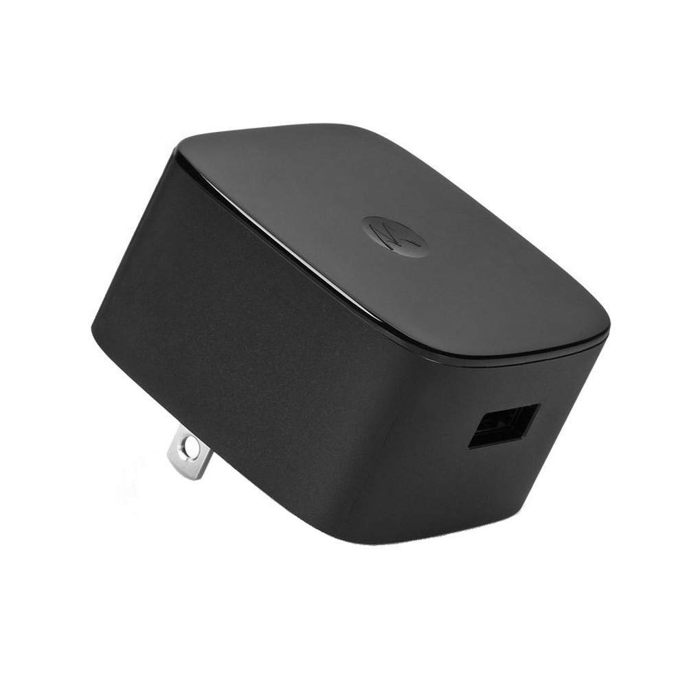 Motorola Oem 15W TurboPower Wall Charger with Original Data/Charging Cable
