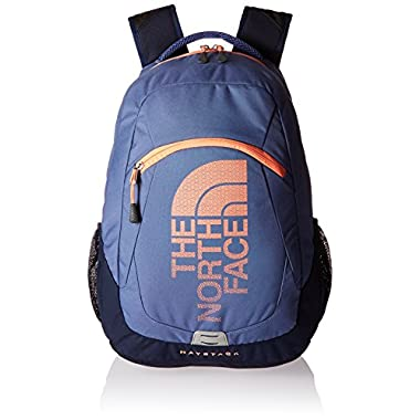 The North Face Haystack Backpack Coastal FJord Blue/Feather Orange