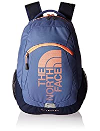 The North Face Haystack Backpack - coastal fjord blue/feather orange, one size