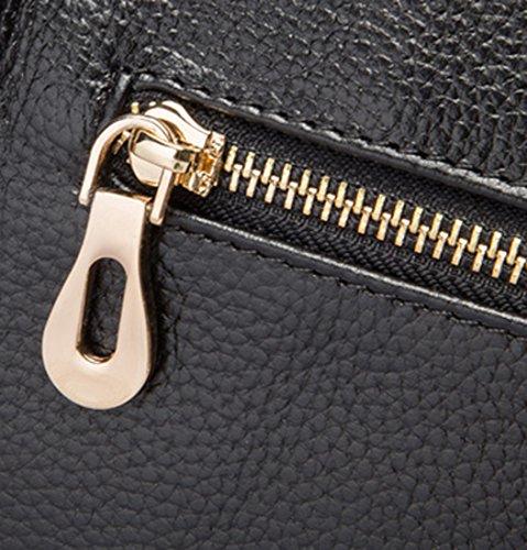 Heshe Shoulder Red Tote Jester Leather Satchel Body Womens Bag Handbags Top Handle Handbag Cross Bags 44nZRrF