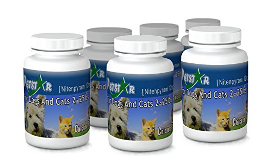 12ct Petstar Nitenpyram 11.4 mg for cats & dogs 2-25 lbs