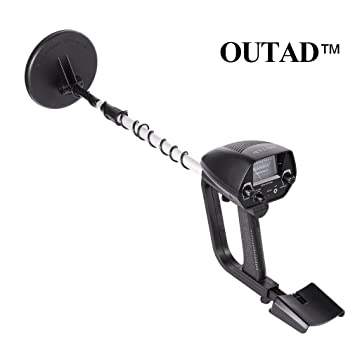 OUTAD MD-4030 Hobby Underground Metal Detector Explorer with Waterproof Search Coil, Volume Adjustment