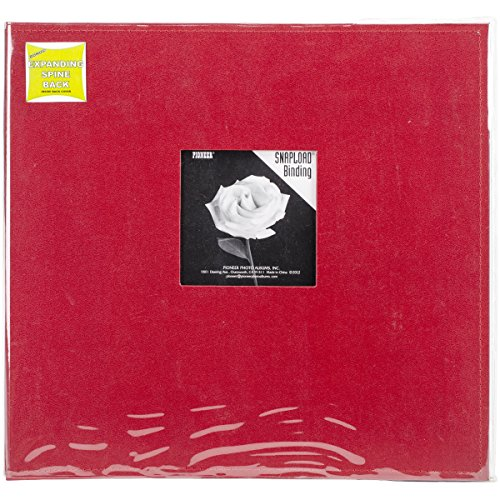Pioneer 12 Inch by 12 Inch Snapload Sewn Leatherette Frame (Frame Memory Book)
